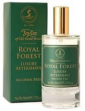Perfumería y cosmética Taylor of Old Bond Street Royal Forest Aftershave Lotion - Loción aftershave, sin alcohol