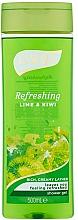 Perfumería y cosmética Gel de ducha perfumado - Luksja Refreshing Lime & Kiwi Shower Gel