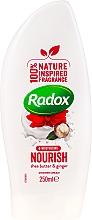 Perfumería y cosmética Crema de ducha hidratante con manteca de karité y jengibre - Radox Moisturising Nourish Shea Butter & Ginger Shower Cream