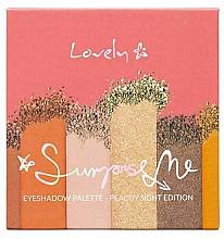 Perfumería y cosmética Paleta de sombras de ojos - Lovely Surprise Me Eyeshadow Palette Peachy Sight Edition