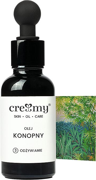 Aceite de cáñamo sin refinar - Creamy