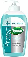 Perfumería y cosmética Jabón antibacteriano con tomillo y aceite de árbol de té - Radox Protect+Replenish Antibac Hand Wash