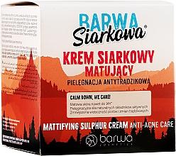 Perfumería y cosmética Crema facial con ácido sulfúrico - Barwa Anti-Acne Cream Sulfuric