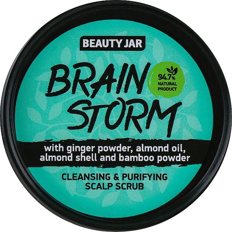 Exfoliante para cuero cabelludo con jengibre en polvo - Beauty Jar Cleansing & Purifying Scalp Scrub