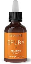 Perfumería y cosmética Concentrado calmante para cabello con corteza de castaño de indias - Vitality's Epura Relaxing Blend
