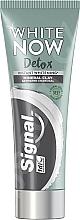 Perfumería y cosmética Pasta dental blanqueadora con carbón activado - Signal White Now Detox Toothpaste