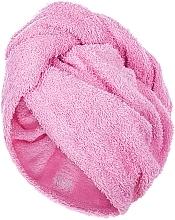 Perfumería y cosmética Toalla turbante, rosa - MakeUp