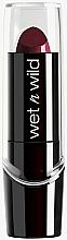 Perfumería y cosmética Barra de labios con vitaminas A, E & aloe vera - Wet N Wild Silk Finish Lipstick