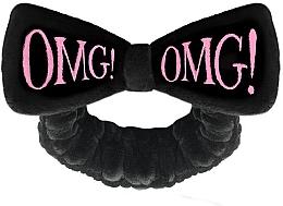 Perfumería y cosmética Cinta de pelo cosmética, negra - Double Dare OMG! Black Hair Band