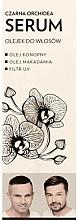 Perfumería y cosmética Aceite sérum para cabello con cáñamo y macadamia - WS Academy Black Orchid Serum Oil