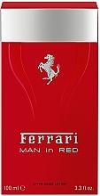 Perfumería y cosmética Ferrari Man in Red - Loción aftershave perfumada