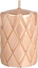 Perfumería y cosmética Vela decorativa color oro rosa 10cm - Artman Florence Candle