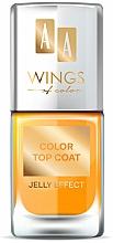 Perfumería y cosmética Top coat con color - AA Wings of Color Color Top Coat