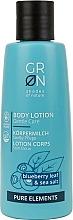 Perfumería y cosmética Loción corporal con hoja de arándano & sal marina - GRN Pure Elements Blueberry & Sea Salt Body Lotion