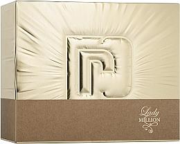 Perfumería y cosmética Paco Rabanne Lady Million - Set (eau de parfum/50ml + eau de parfum/mini/10ml + loción corporal/75ml)