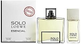 Perfumería y cosmética Loewe Solo Esencial - Set (eau de toilette/100ml + eau de toilette/formato viaje/30ml)