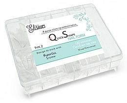 Perfumería y cosmética Extensiones de uñas - Elisium Quick Shape Nail Form Type 2