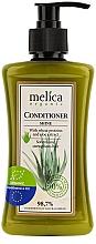 Perfumería y cosmética Acondicionador orgánico para brillo con proteínas de trigo y aloe vera - Melica Organic Shine Conditioner