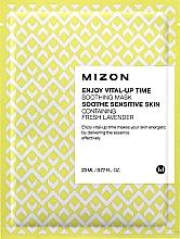 Perfumería y cosmética Mascarilla facial natural de algodón con vitamina C y betacaroteno - Mizon Enjoy Vital-Up Time Soothing Mask