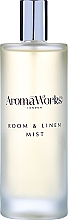 Perfumería y cosmética Ambientador spray con aroma a junípero y olíbano - AromaWorks Soulful Room Mist