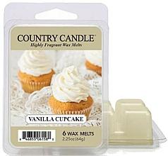 Perfumería y cosmética Cera para lámpara aromática con fragancia a vainilla - Country Candle Vanilla Cupcake Wax Melts