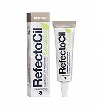 Perfumería y cosmética Tinte para cejas y pestañas piel sensible (gel desarollador no incluido) - RefectoCil Sensitive Eyelash & Eyebrow Tint