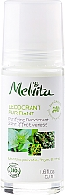 Perfumería y cosmética Desodorante purificante con aceites de menta, tomillo y salvia - Melvita Body Care Purifyng Deodorant 24 hr Effectiveness