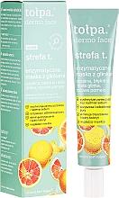 Perfumería y cosmética Mascarilla facial con arcilla blanca y extracto de pomelo - Tolpa Dermo Face Strefa T Face Mask