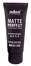 Perfumería y cosmética Base de maquillaje con D-pantenol y vitaminas - Ados Matte Perfect Foundation
