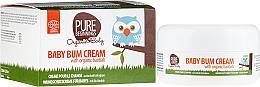 Perfumería y cosmética Crema protectora de pañal con aceite orgánico de baobab - Pure Beginnings Baby Bum Cream