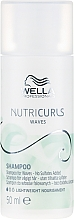 Perfumería y cosmética Champú para cabello ondulado libre de sulfatos - Wella Professionals Nutricurls Waves Shampoo (mini)
