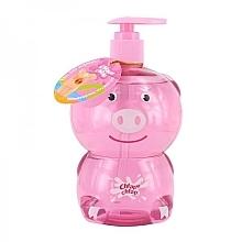 Perfumería y cosmética Gel de ducha y baño infantil con aroma a fresa - Chlapu Chlap Bath & Shower Gel Cerdito