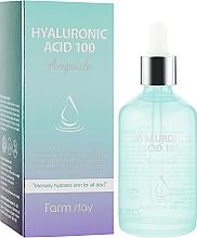 Perfumería y cosmética Sérum facial con 100% ácido hialurónico - FarmStay Hyaluronic Acid 100 Ampoule