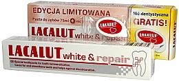 Perfumería y cosmética Lacalut White & Repair Set - Set dental (pasta/75ml + flossers)