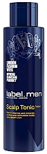 Perfumería y cosmética Tónico estimulante para cuero cabelludo con vitaminas - Label.m Label Men Scalp Tonic