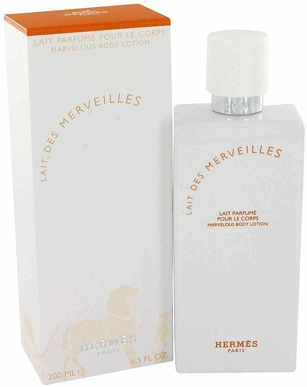 Hermes Eau des Merveilles - Leche corporal perfumada — imagen N1