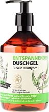 Perfumería y cosmética Gel de ducha con extracto de hoja de eucalipto - Las recetas de la abuela Gertruda