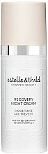 Perfumería y cosmética Crema de noche reparadora con rosa damascena - Estelle & Thild BioDefense Instant Recovery Night Cream