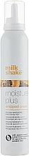 Perfumería y cosmética Mousse hidratante sin aclarado para cabello seco con extracto de papaya y ácido hialurónico - Milk Shake Moisture Plus Hair Whipped Cream