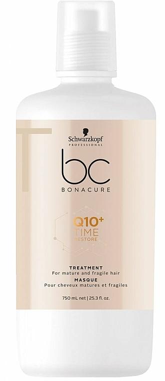 Mascarilla capilar con coenzima Q10 - Schwarzkopf Professional BC Bonacure Time Restore Q10 Plus Treatment  — imagen N2