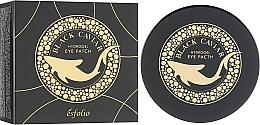 Perfumería y cosmética Parches para contorno de ojos de hidrogel con extracto de caviar negro - Esfolio Black Caviar Hydrogel Eye Patch
