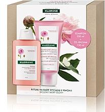 Perfumería y cosmética Set para cabello (champú/200ml+ acondicionador/150ml) - Klorane Peony