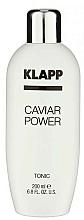 Perfumería y cosmética Tónico facial minimizador de poros, sin alcohol - Klapp Caviar Power Tonic