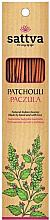 Perfumería y cosmética Varitas de incienso con aroma a pachulí - Sattva Patchouli