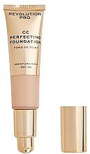 Perfumería y cosmética Base de maquillaje - Revolution Pro CC Cream Perfecting Foundation SPF 30