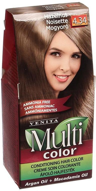 Tinte permanente para cabello, sin amoníaco - Venita Multi Color