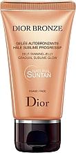 Perfumería y cosmética Gel facial autobronceador - Dior Bronze Self-Tanning Jelly Face