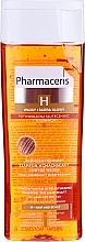 Perfumería y cosmética Champú regenerador de cabello con extracto de jengibre, pantenol y alantoína - Pharmaceris H H-Keratineum Concentrated Strengthening Shampoo For Weak Hair