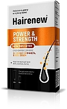 Perfumería y cosmética Hairenew Power & Strength Ultra Triple Action - Complejo fortalecedor de cabello (crema/30 ml + booster/10ml)