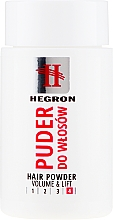 Perfumería y cosmética Polvo para extra volumen - Hegron Hair Powder Volume&Lift